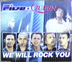 画像1: Five + Queen / We Will Rock You 【CDS】最終在庫